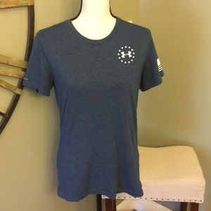 Under Armour wounded warrior T shirt